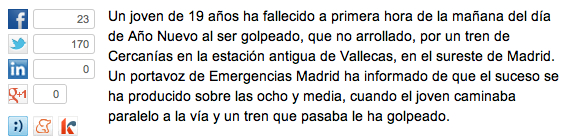 Fechas El País